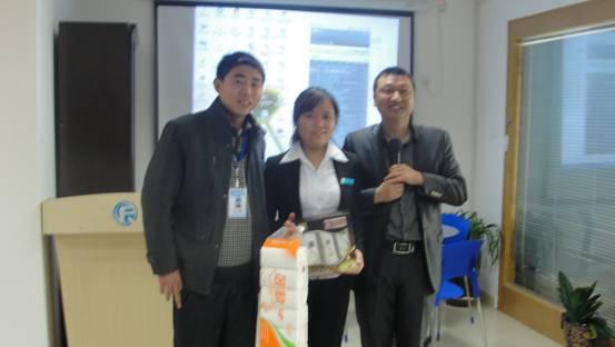 群峰教育集团喜庆三八佳节